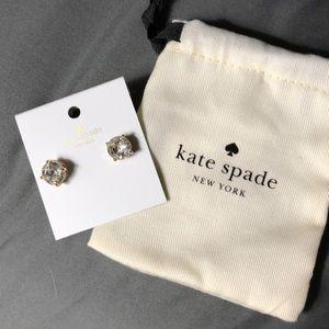 Kate Spade Gumdrop Earrings Clear